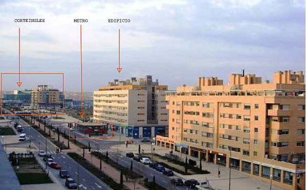 Edificio Archiduque esquina  Américo Castro